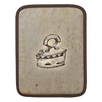 Retro Vintage Old Iron Design Sleeves For iPads