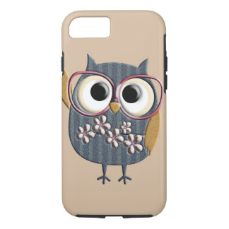Retro Vintage Owl iPhone 8/7 Case