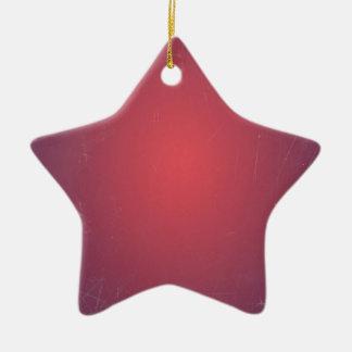 Retro Vintage Red Cyclamen Elegant Pattern Christmas Tree Ornaments