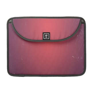 Retro Vintage Red Cyclamen Elegant Pattern Sleeve For MacBook Pro