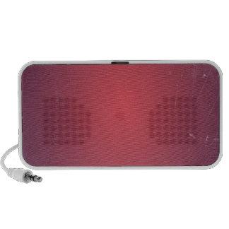 Retro Vintage Red Cyclamen Elegant Pattern Travelling Speaker