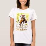 Retro Vintage Rodeo Cowboy Roundup T-Shirt