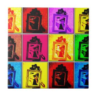 retro vintage russian frame ussr nostalgia ceramic tile