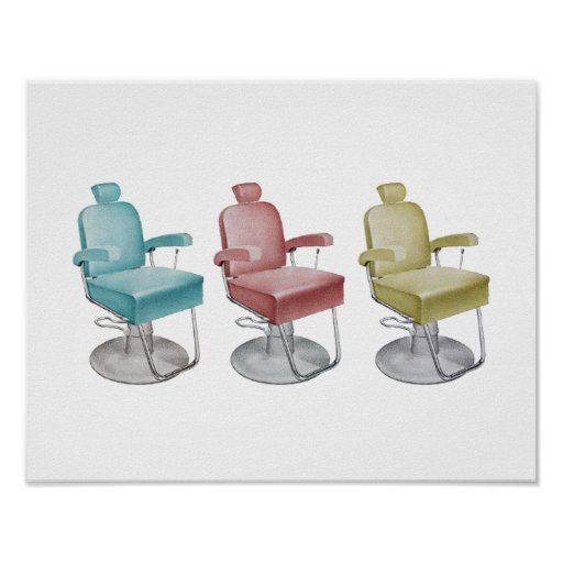Retro Vintage Salon Chair
