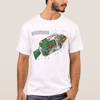 Retro Vintage Sci Fi Apollo Space Module T-Shirt