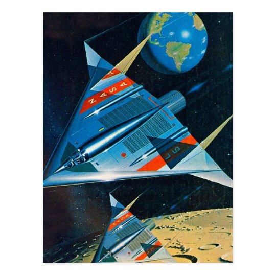 Retro Vintage Sci Fi Nasa Space Flight L-15