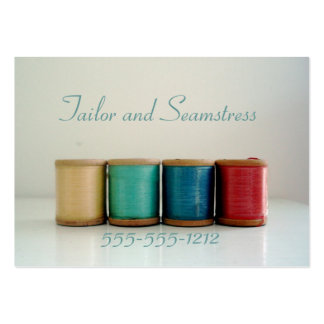 Retro Vintage Seamstress and Tailor Business Cards
