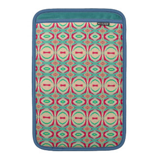 Retro Vintage Shapes Pattern Sleeve For MacBook Air