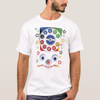 Retro Vintage smiley kids Toys Dial Phone T-Shirt