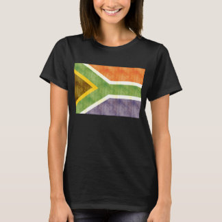 Retro Vintage South Africa Flag T-Shirt