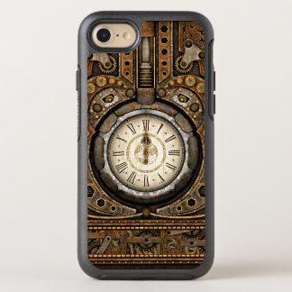 Retro Vintage Steampunk Time Machine OtterBox Symmetry iPhone 8/7 Case