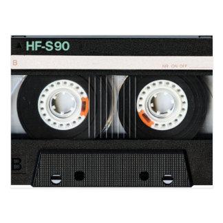 Retro Vintage Tape Cassette Recorder 70s 80s Postcard