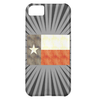 Retro Vintage Texas Flag Cover For iPhone 5C