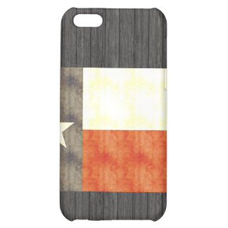 Retro Vintage Texas Flag Case For iPhone 5C