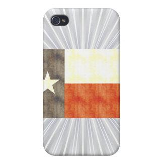 Retro Vintage Texas Flag iPhone 4/4S Covers
