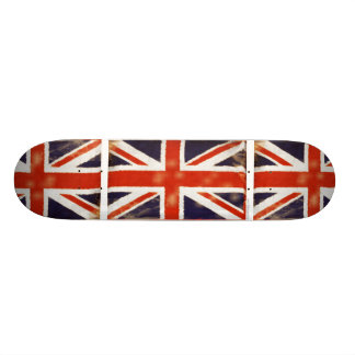 Retro Vintage Union Jack Skate Deck