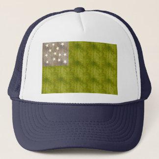 Retro Vintage Vermont Republic Flag Trucker Hat