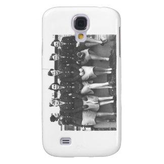 Retro Vintage Women in Uniform Military Women Galaxy S4 Case