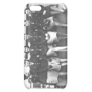 Retro Vintage Women in Uniform Military Women Case For iPhone 5C