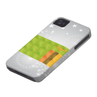 Retro Vintage Zambia Flag Case-Mate iPhone 4 Cases