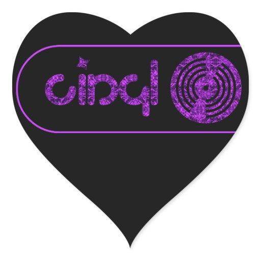 Retro Vinyl Logo - Black & Purple | Zazzle