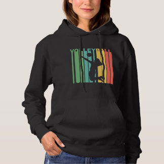 Retro Volleyball Hoodie