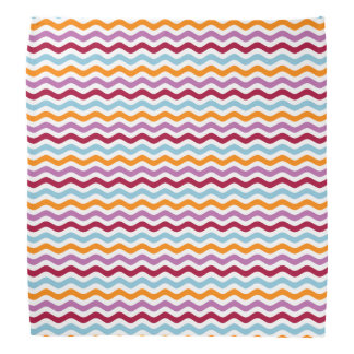 Retro waves kerchiefs