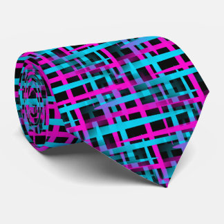 Retro Weave Pattern Tie