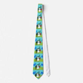 Retro Wedding Couple Tie