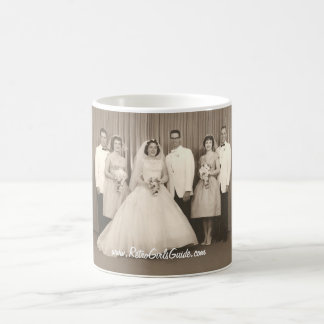 Retro Wedding Mug