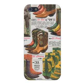 Retro Western Wear : Boots Cover For iPhone 5/5S