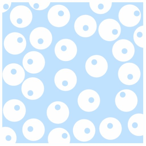 Retro white and light blue pattern. photo cutout