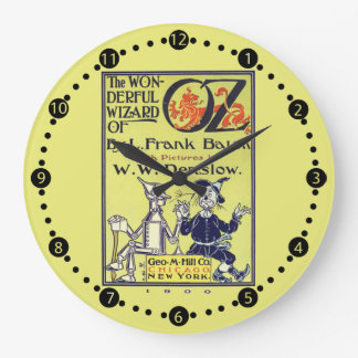 Retro Wizard of Oz Vintage wall Clock