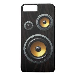 Retro Wood Grain Speaker Trio iPhone 8 Plus/7 Plus Case