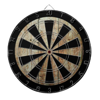 Retro Wood Wooden Texture Pattern Dartboards