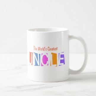 Retro World s Greatest Uncle Mug