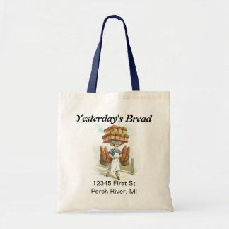 Retro Yesterday's Bread Bag Tote Gift Gifts Sack