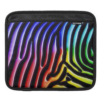 Retro Zebra 1 iPad Sleeve