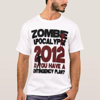 Retro Zombie Apocalypse 2012 T-Shirt
