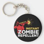 Retro Zombie Survival Horror- Boomstick Repellent Key Chain