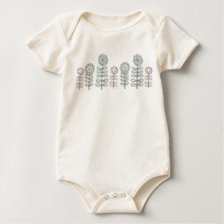 retroflora organic baby wear baby bodysuit