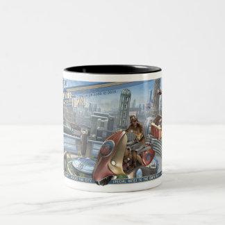 Retropolis Courier Service Mug