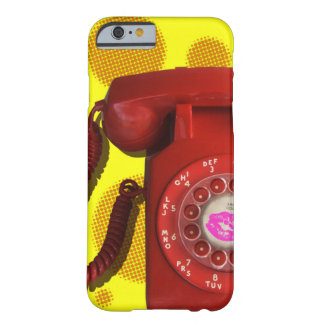 RetroRed Barely There iPhone 6 Case