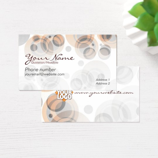 RetroRounds Business Card