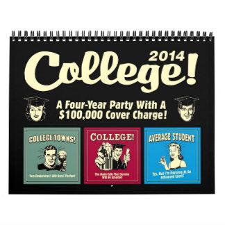 Retrospoofs College Calendar