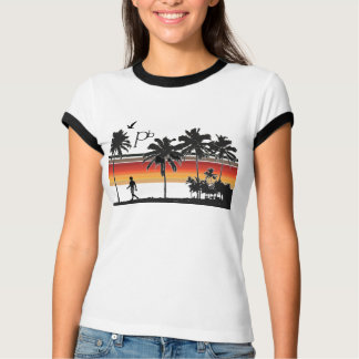 RetroSunsetBeach2 T-Shirt
