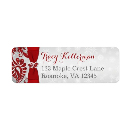 Return Address Label 1 | Wrapped in Love