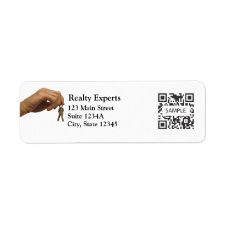 Return Address Label Template Realty Experts