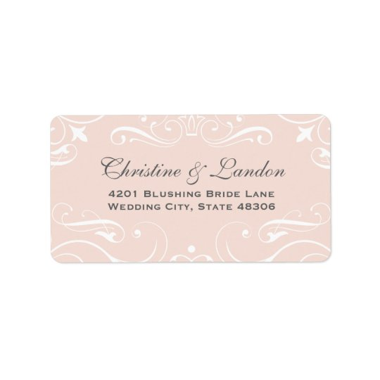 Return Address Labels | Elegant Flourishes