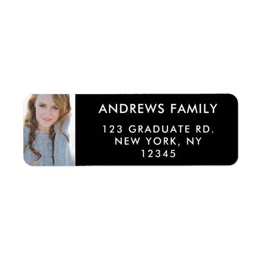 Return Address Labels | Graduate Photo Custom